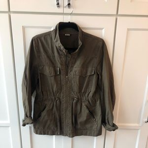 J Crew Army Green Jacket - Small
